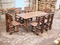 """Комплект мебели """"Банный"""" с 6 стульями"""