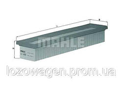 Фильтр воздушный 1.2 MAHLE LX1655