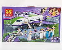 "Конструктор Lele 79175 ""Аэропорт Хартлейк Сити"" 701 деталь (аналог LEGO Friends 41109)"