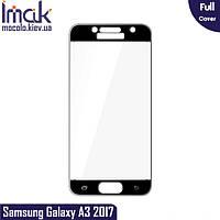 Защитное стекло Imak Samsung Galaxy A3 (2017) Full cover (Black)