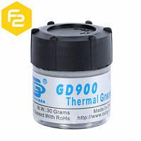Термопаста GD900 [30 грамм, 4.8 Вт/м·К] для систем охлаждения, сервисный вариант.