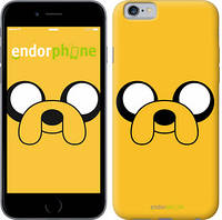 "Чехол на iPhone 6 Adventure Time. Jake ""1121c-45"""