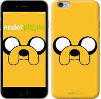 """Чехол на iPhone 6s Plus Adventure Time. Jake """"1121c-91"""""""