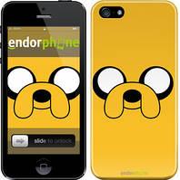 """Чехол на iPhone 5 Adventure Time. Jake """"1121c-18"""""""