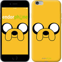 "Чехол на iPhone 6 Plus Adventure Time. Jake ""1121c-48"""
