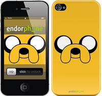 """Чехол на iPhone 4 Adventure Time. Jake """"1121c-15"""""""