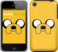 "Чехол на iPhone 3Gs Adventure Time. Jake ""1121c-34"""