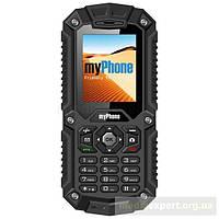 Телефон myphone hammer черный