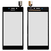 Сенсор Sony D2302/D2303/D2305/D2306 Xperia M2 (Чорний) Original