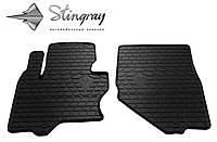 Резиновые коврики Инфинити ФХ (ЕС51) 08-   Комплект из 2-х ковриков Черный в салон. Доставка по всей Украине. Оплата при получении