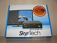 SkyTech 97G цифровой эфирный DVB-T2 ресивер (тюнер Т2)