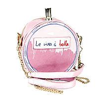 "3D сумочка ""Parfume"" в форме бутылочки парфюма розовая"