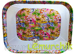 Манеж детский с мелкой сеткой Kinderbox, Джунгли