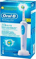 Электрическая зубная щетка ORAL-B BRAUN Vitality 3D White/D12