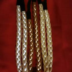 Греческая повязка коса разных цветов