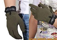 Тактические стрелковые перчатки 5.11 Олива (зелёные)