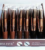 Тушь для ресниц и карандаш для бровей  3в1