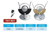 Антенна комнатная ТВ TNY-801 с переключателем каналов