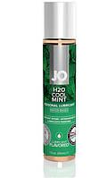 Мини-лубрикант со вкусом мяты JO H20 LUBRICANT COOL MINT, 30 мл.