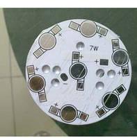 Алюминиевая плата радиатор для LED 7 шт. 1-3W