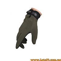 Тактические стрелковые перчатки 5.11 Олива (зелёные) L
