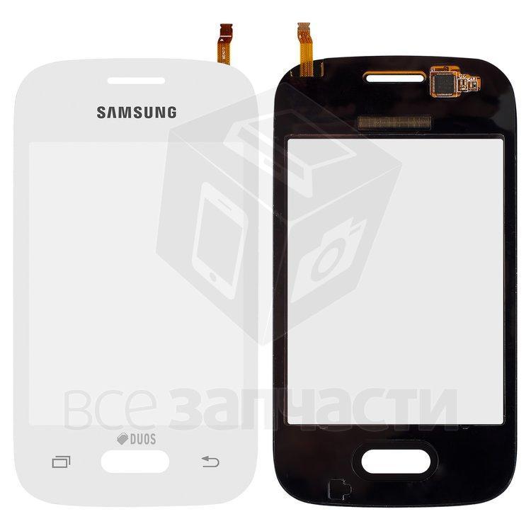 Сенсорный экран для мобильных телефонов Samsung G110B, белый