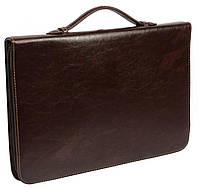 Мужская папка для документов 4U Cavaldi B0415 коричневая