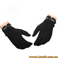 Тактические стрелковые перчатки 5.11 Черные M