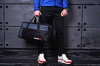 Стильная спортивная сумка Reebok (темно-синяя)