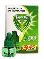 Жидкость от комаров SuperBat 45 ночей  Гипоаллергенная)