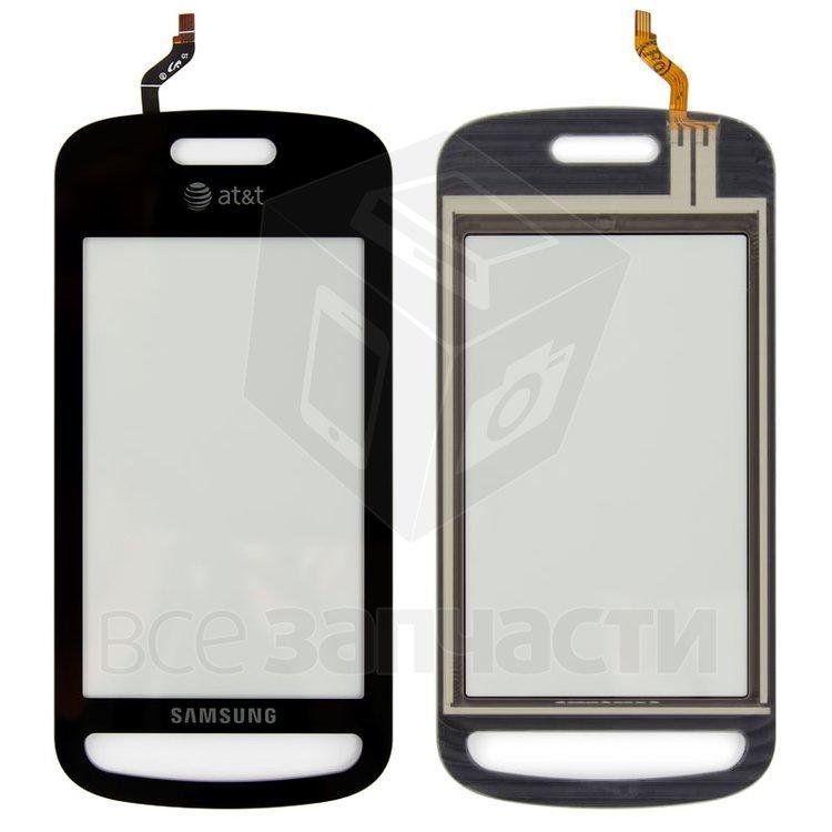 Сенсорный экран для мобильного телефона Samsung A887, черный