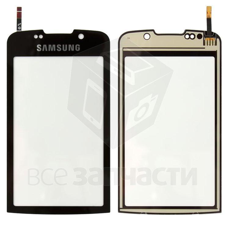 Сенсорный экран для мобильного телефона Samsung B7610, черный