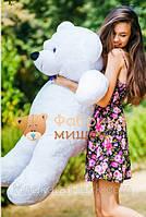 Мишка большой плюшевый экологический 135 см, Украина
