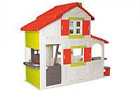 Домик детский игровой Duplex Smoby - Франция - двухэтажный, с двумя дверьми