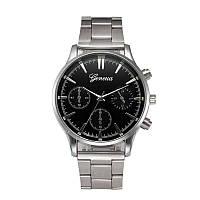 Наручные мужские часы с железным браслетом, GENEVA, женева
