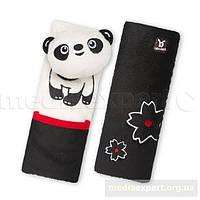 Накладки на ремни безопасности benbat friends панда bp244 (1 - 4 лет)