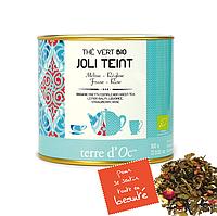 Органический зеленый чай для тонуса кожи,100г , Terre d'Oc