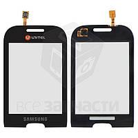Сенсорный экран для мобильного телефона Samsung S3770, черный