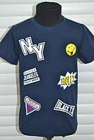 Трикотажные футболки для мальчиков,Размеры 98-128 см, S&D.Венгрия