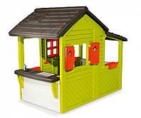 Домик детский игровой Floralie Neo 2015 Smoby - Франция - звонок, горшочки для цветов, стойка-кухня