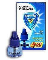 Жидкость от комаров SuperBat 60 ночей