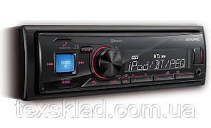 Автомагнітола Alpine UTE-72BT (USB/FM/AUX/Bluetooth/1 din)