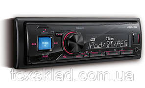 Автомагнитола Alpine UTE-72BT (USB/FM/AUX/Bluetooth/1 din)