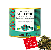Органический зеленый чай для стройной фигуры,100г , Terre d'Oc