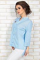 Рубашка Лауретта голубая полоска