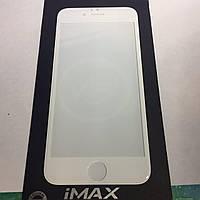 Защитное стекло iMAX iPhone 6 /6s 3D white