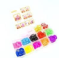 Набор резиночек для плетения браслетов Colorful Loom Bands маленький