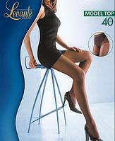 Колготки LEVANTE MODEL TOP 40 (черный, натуральный. кофейный, цвет загара, бежевый, темно-серый) (2; 3; 4)