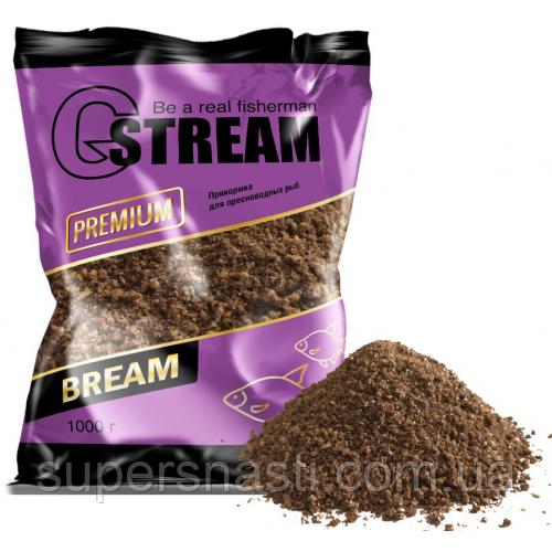 Прикормка G. Stream Premium Series Bream 1кг - SuperSnasti в Днепре