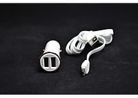 Автомобильная зарядка DL-C28 LDNIO 2USB 3.4A + USB cable micro
